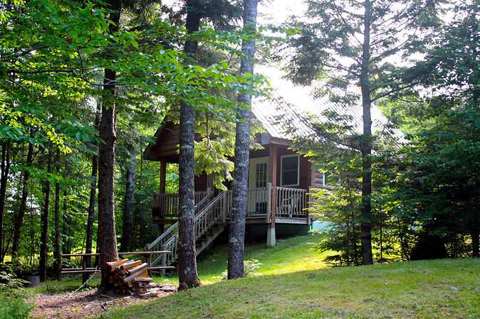 Cabins in Maine, Lakeside Fishing, Hunting, ATV, Snowmobile cabins in Maine