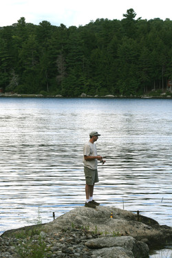 Fishing and hunting in Maine