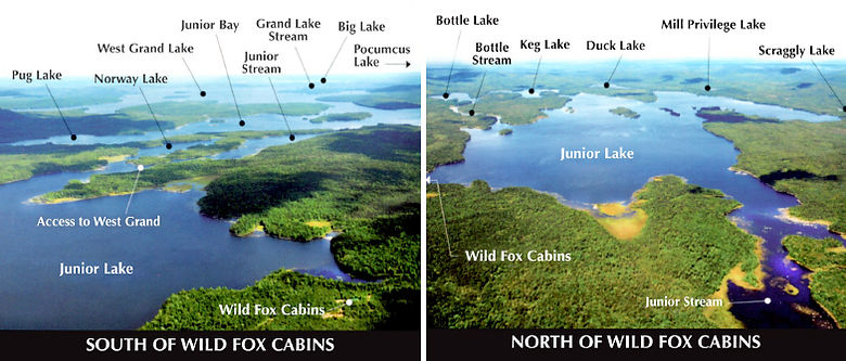 Access to 11 Maine lakes and 25,000 acres of fighing.