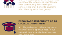 Five Reasons to Create a Scholarship