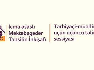 Tərbiyəçi-müəllimlər üçün üçüncü təlimlər sessiyası