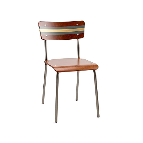 Contemporary School Chair Ref Gold 5