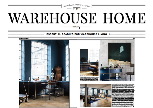 my warehoue home press article