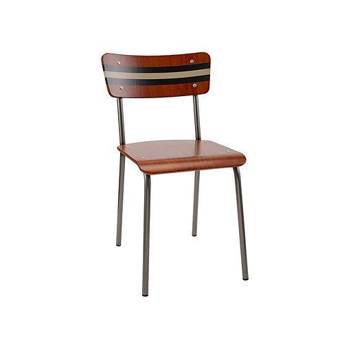 Contemporary School Chair Ref Stripe 4