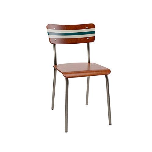 Contemporary School Chair Ref Stripe 7