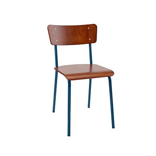 Contemporary School Chair Blue Ref No.12