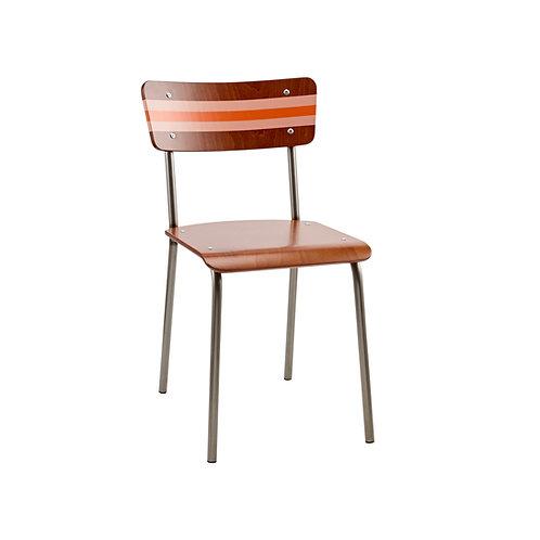 Contemporary School Chair Ref Stripe 3