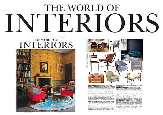 World of Interiors Press Article