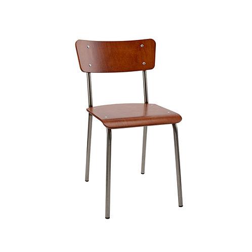 The Original Mahogany Contemporary School Chair Ref No.7