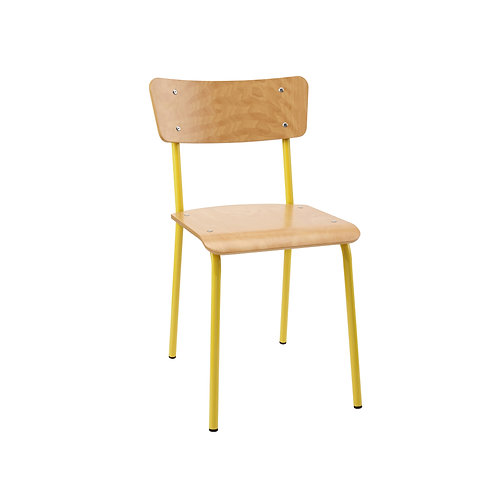 Contemporary School Chair Yellow Ref No.13