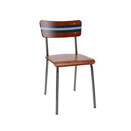 Contemporary School Chair Ref Stripe 5