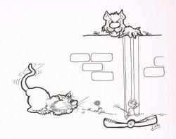 Jeu du chat et de la souris 2