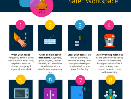 8 Tips to create a safer workspace