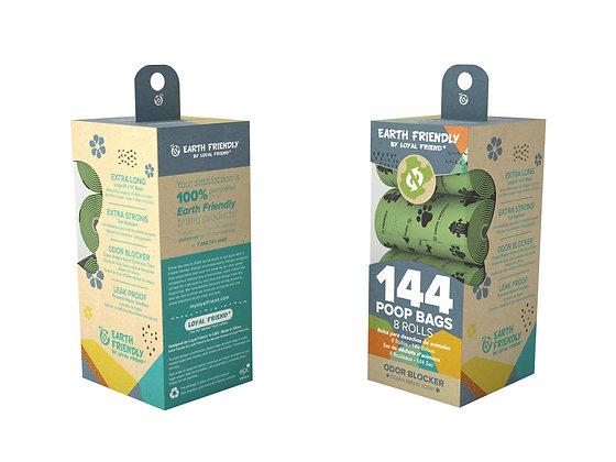 Earth Friendly Poop Bags 144 Odor Blocker Scented Bags