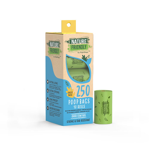 Nature Friendly 250 Scented Poop Bags