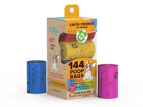 Earth Friendly 144 Poop Bags