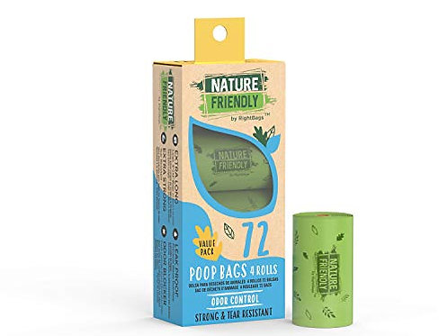 Nature Friendly 72 Scented Poop Bags