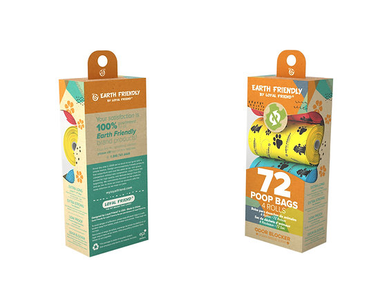 Earth Friendly Poop Bags 72 Odor Blocker Scented Bags