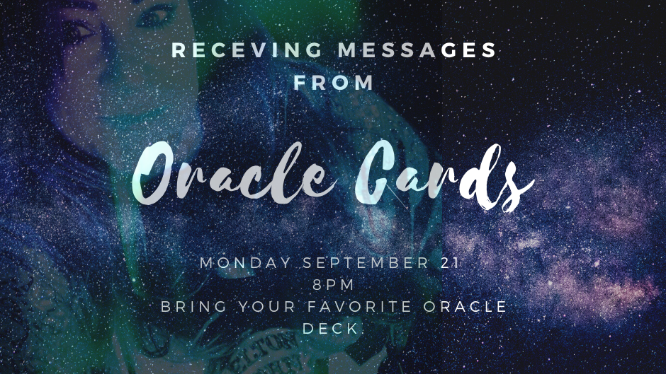 ORACLE CARD MESSAGES  CLASS