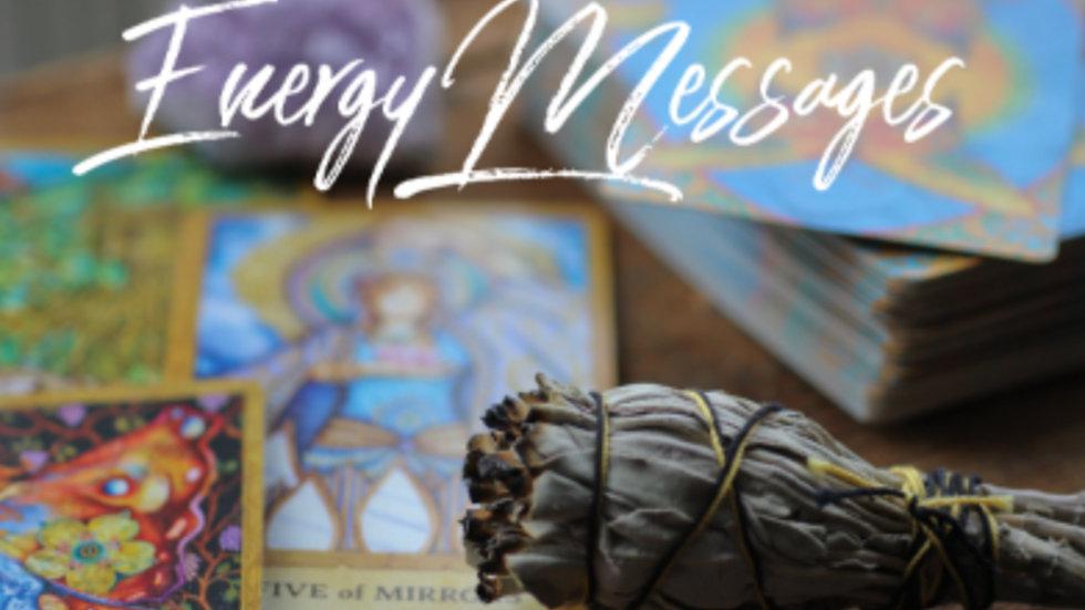 Tarot/Oracle Energy Reading