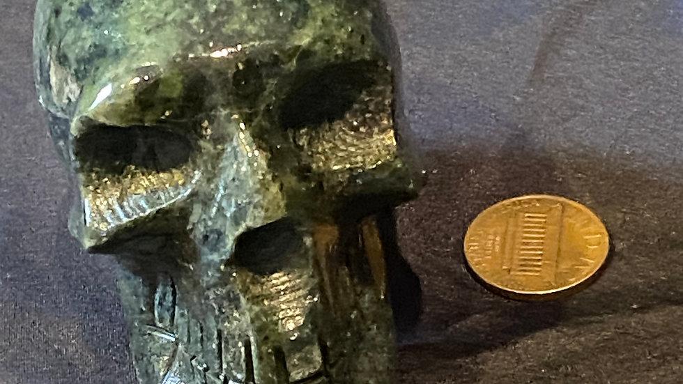 Nephite Jade Skull