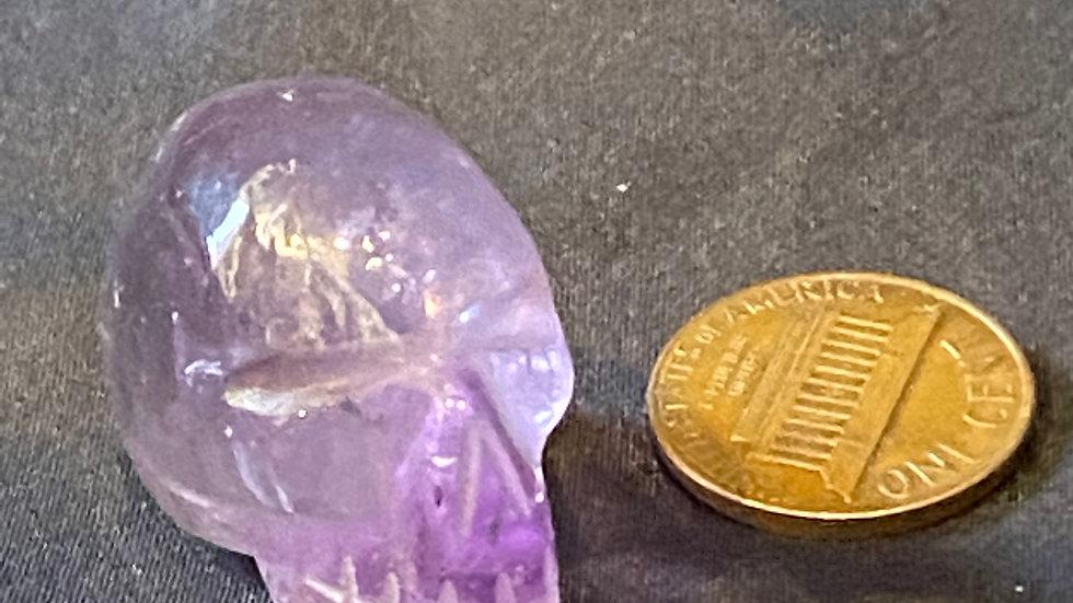 Mini Amethyst Skull