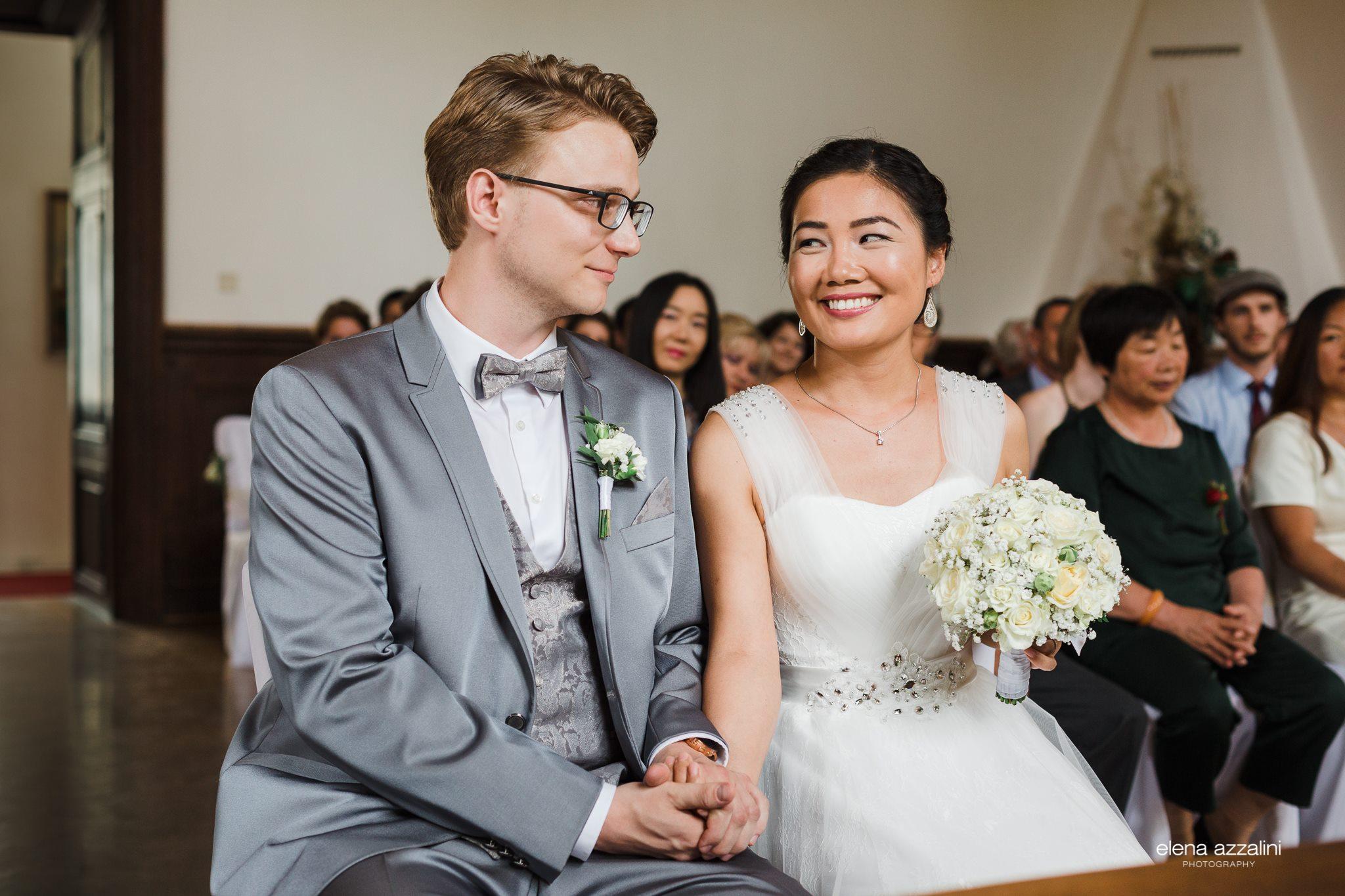 Brautpaar Lana und Gabriel