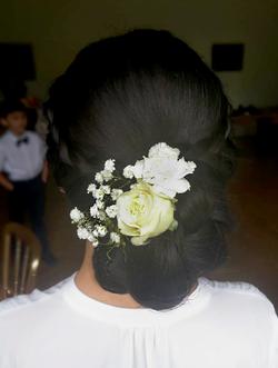 Hochzeitsfrisur Lana