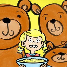 Goldie Locks and the three bears