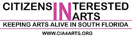 Citizens Interested In the Arts Keeping Arts Alive In South Florida Logo
