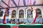 """Seconda Festa dell'Acrobatica """"Una domenica a testa in giù"""" alla Reale Società Ginnastica e"""