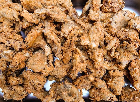 Crispy Fried Oyster Mushroom Chick'Un Bites