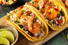 Homemade Spicy Shrimp Tacos with Colesla