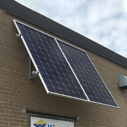 Loom solar wall mounted, 2 panel stand 350 watt