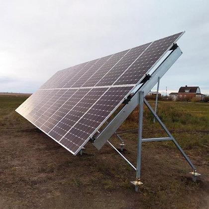 Loom solar 2 row design 6 panel stand 350 watt