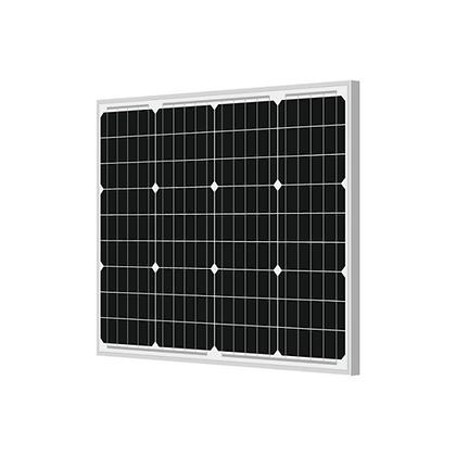 Loom solar panel 50 watt - 12 volt mono crystalline