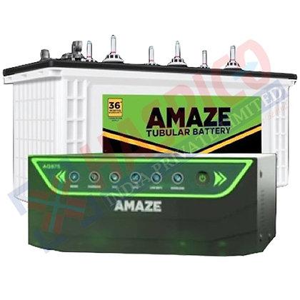 AMAZE INVERTER COMBO AN875+ & 100AH