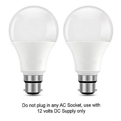 5 watt / 12 volt solar dc led bulb (Pack of 2)