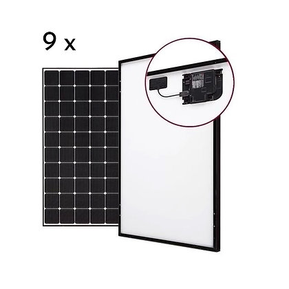 Loom solar 3 kw grid connected AC Module
