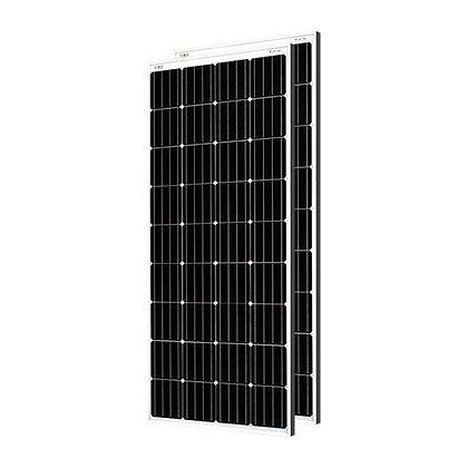 Loom solar panel 180 watt / 12 volt mono crystalline (Pack of 2)