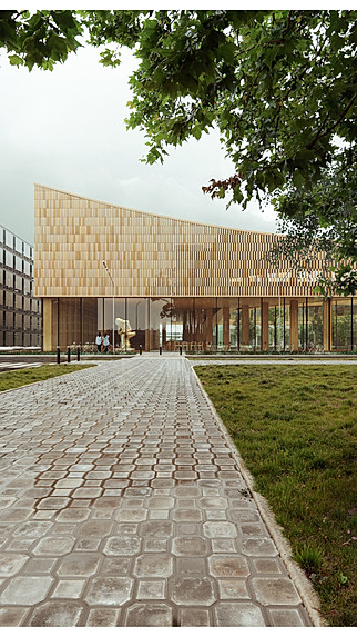 Science Center in Lund, Sweden; by Cobe Architects. 2019 © Francisco Tirado.