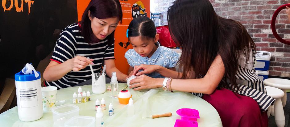 康怡廣場  -  萬聖節活動 DIY 眼球👀肥皂工作坊