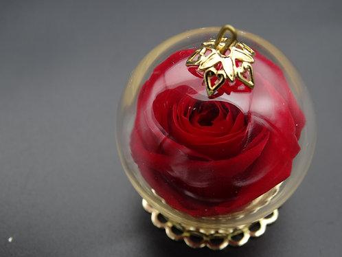 「愛。保鮮」迷你玫瑰項鏈