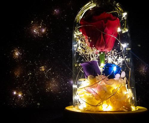 「愛。保鮮」- 玫瑰花燈