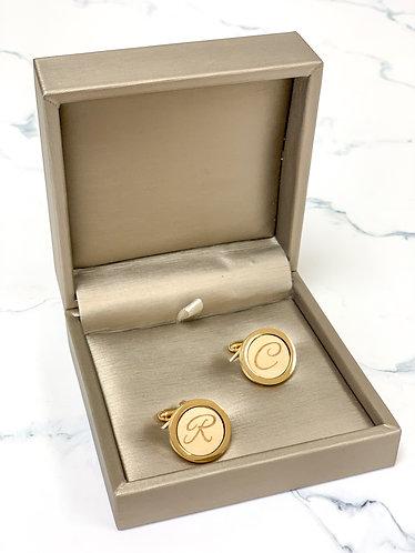 木製個人化袖口鈕