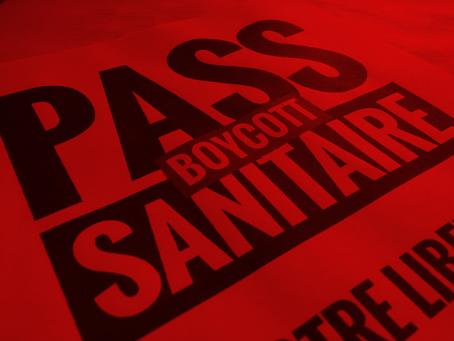 Pass Sanitaire : ne les laissons pas nous imposer leur société d'apartheid !