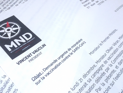 Lettre ouverte à Jean Castex : Vincent Vauclin demande un moratoire sur le vaccin anti-Covid