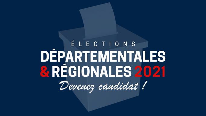 Régionales et départementales 2021 : devenez candidat du MND !