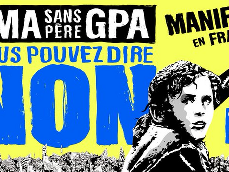 Le 10 octobre, on se mobilise contre la PMA sans père !