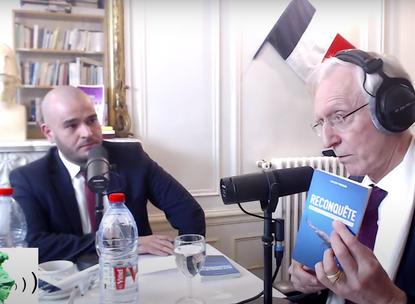 Vincent Vauclin invité d'Henry de Lesquen sur Radio Athéna